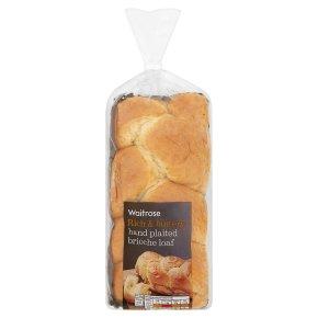 Waitrose Hand Plaited Brioche Loaf