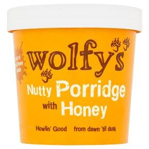 Wolfy's Nutty Porridge with Honey Pot