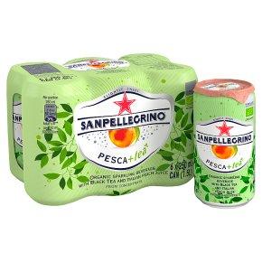 San Pellegrino Pesca + Tea