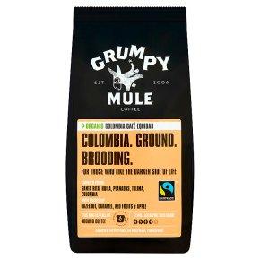 Grumpy Mule Fair Trade Organic Colombia coffee