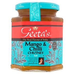 Geeta's mango & chilli chutney