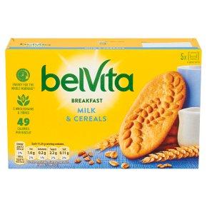Belvita Breakfast Biscuits Milk and Cereals