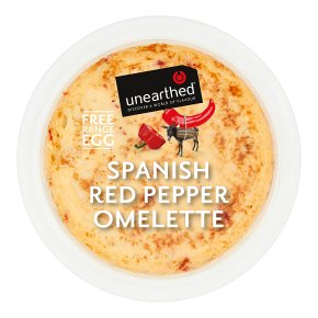 Unearthed Spanish Red Pepper Omelette
