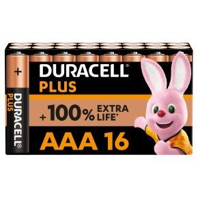 Duracell Plus Power AAA Batteries Alkaline