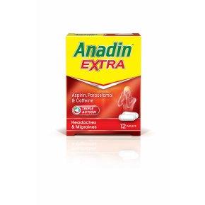 Anadin Extra Caplets 12 Pack