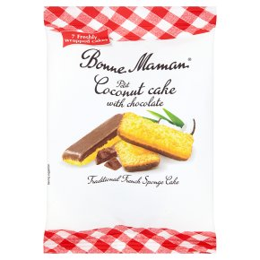Bonne Maman 7 Petit Coconut Cake with Chocolate