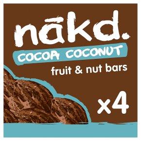 Nakd Cocoa Coconut Wholefood Bars