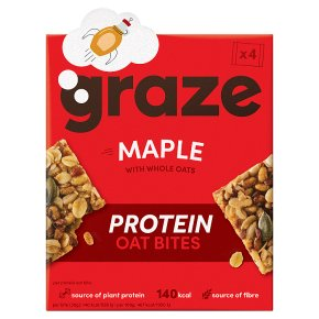 Graze Maple & Oats Protein Bites