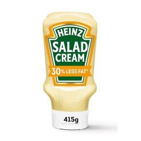 Heinz salad cream 30% less fat