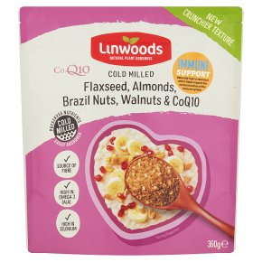 Linwoods milled flaxseed, almonds, brazil nuts & walnuts