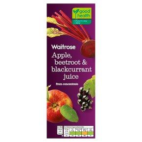 Waitrose Apple, Beetroot & Blackcurrant Juice