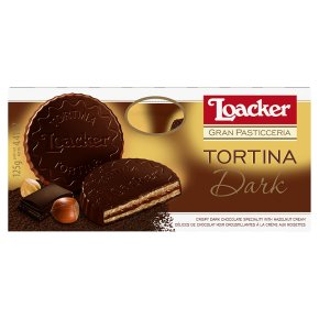 Loacker tortina dark chocolate
