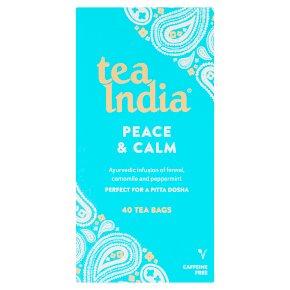 Tea India Peace & Calm 40 Tea Bags