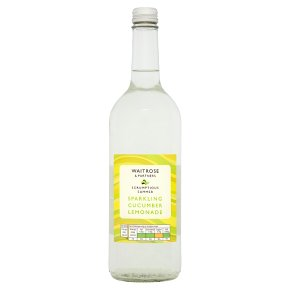 Waitrose Sparkling Cucumber & Lemonade Refresher