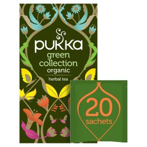 Pukka Green Collection 20 Green Tea Sachets