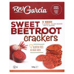 RW Garcia Sweet Beetroot Crackers