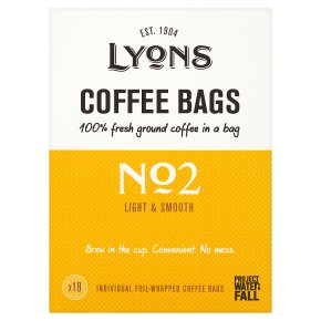 Lyons Coffee Bags No2 18s