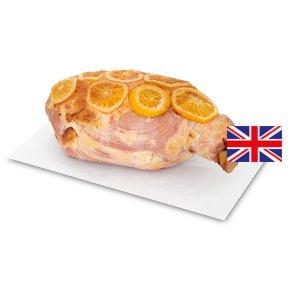 Waitrose 1 British Free Range orange and marmalade roast ham