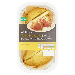 Waitrose Jacket Potato with Herb Butter