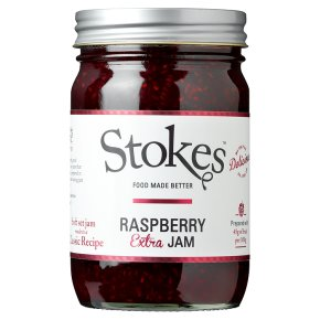Stokes real preserves raspberry jam