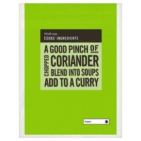 Waitrose Cook's Ingredients chopped coriander