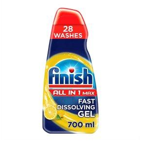Finish All In 1 Max Fast Dissolving Gel Lemon Degreaser