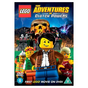 DVD LEGO The Adventures of Cluch Powers
