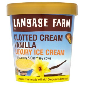 LangagFm Clotted Vanilla Ice Cream