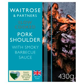 Waitrose Slow Cooked Barbecue Pork
