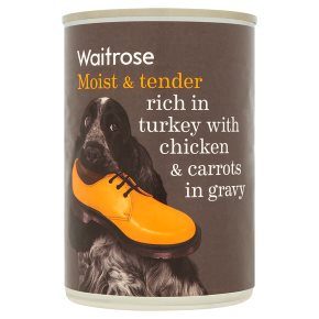 Waitrose chunks in gravy turkey chicken & carrots