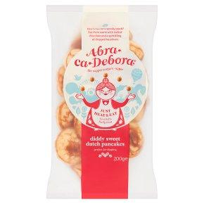 Abra-ca-Debora diddy sweet Dutch pancakes