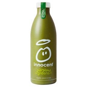 innocent smoothie gorgeous greens