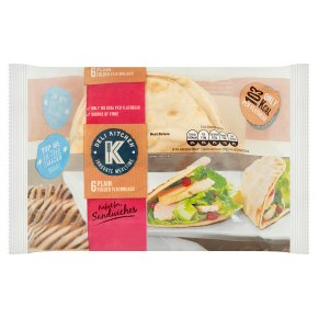 Deli Kitchen Plain Flatbread Thins