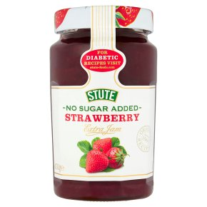 Stute no added sugar strawberry jam