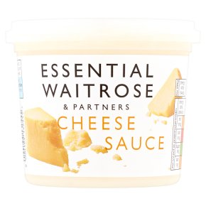 essential Waitrose cheese sauce