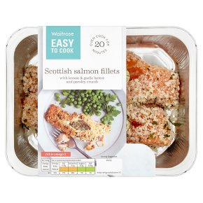 Easy To Cook Scottish Salmon Fillets with Lemon