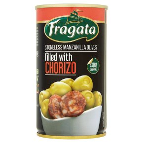 Fragata Olives with Chorizo
