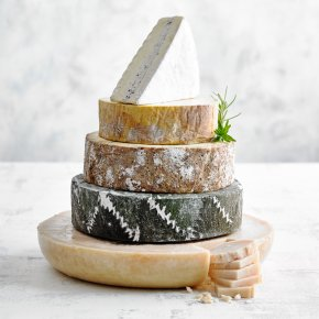 Florence Five Tier Cheese Wedding Cake