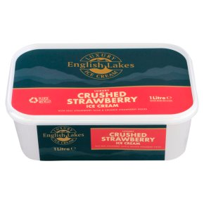 English Lakes strawberry ice cream
