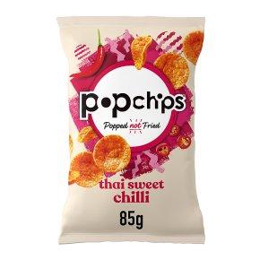 Popchips thai sweet chilli potato chips