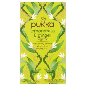 Pukka Lemongrass & Ginger 20Herbal Tea Sachets