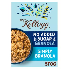 W.K Kellogg No Added Sugar Simply Granola