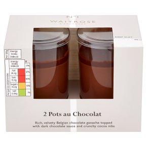 Waitrose 1 2 Pots au Chocolat