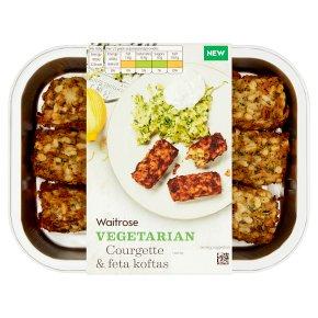 Waitrose Vegetarian Courgette & Feta Koftas