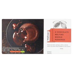 Waitrose 1 Chocolate Melting Middle Puddings