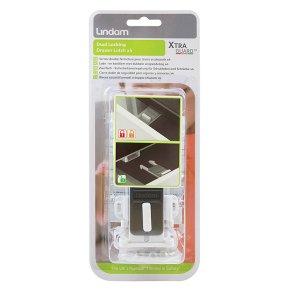 Lindam Dual Locking Drawer Latch