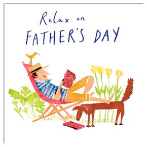 Quentin Blake - Father's Day Card