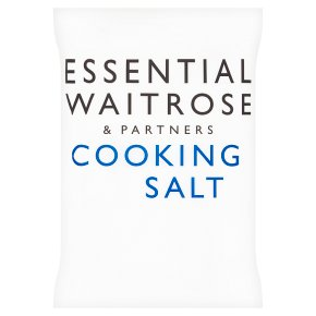 essential Waitrose cooking salt