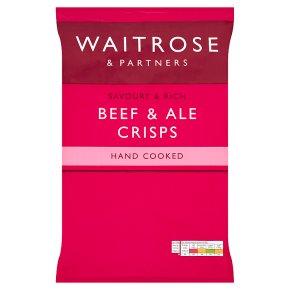 Waitrose Beef & Ale Crisps