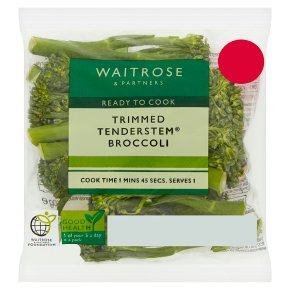Waitrose trimmed tenderstem broccoli